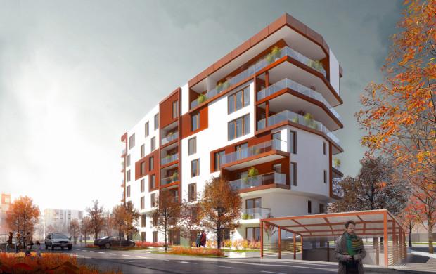 Osiedle Idea przy ulicy Beniowskiego w Gdańsku. Budynek B4 może zostać oddany do użytkowania szybciej niż przewiduje to harmonogram, zadecydują o tym klienci.