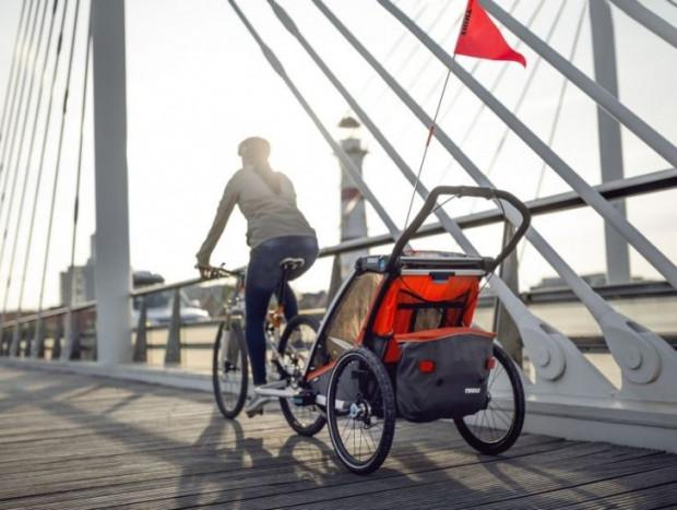 Dzięki przyczepkom rowerowym zabierzemy na wycieczkę rowerową najmłodsze dzieci