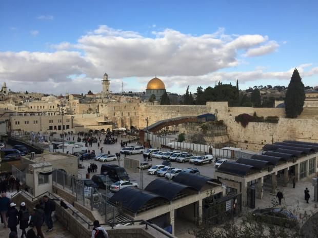 Wzgórze Świątynne w Jerozolimie.