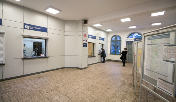 W Oliwie można kupić jedynie bilet drukowany z kasy fiskalnej ważny tylko na konkretny pociąg.