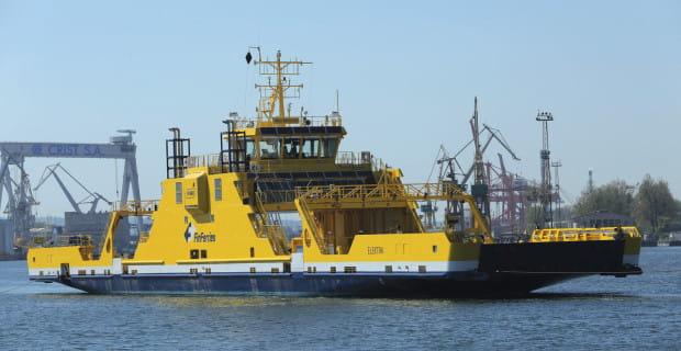 Prom wykonała stocznia Crist. Jednostka została zwodowana w lutym 2017 r. Chrzest odbył się pod koniec maja.