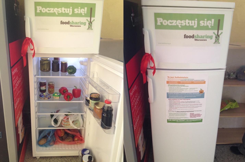 В Польше набирает популярность идея делиться едой. Пункты, где можно бесплатно взять или оставить продукты