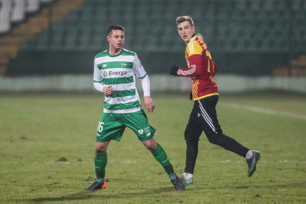 Ariel Borysiuk strzelił jedynego gola w sparingu Lechia - Chojniczanka.