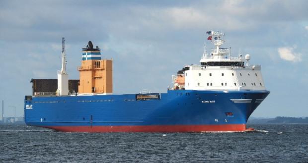 Statek jest przeznaczony do przewozów frachtowych.
