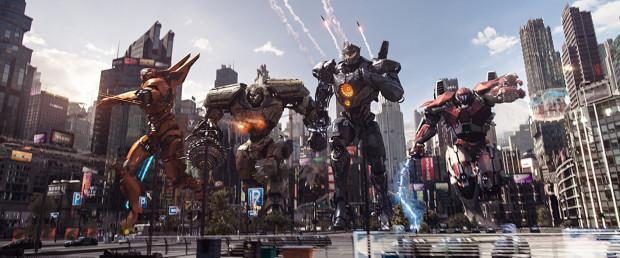 """Klimatyczne i hołdujące japońskiej klasyce filmów katastroficznych kino z pierwszej części """"Pacific Rim"""" zastąpiono komercyjnym zlepkiem przypadkowych scen i postaci, które i tak nikną w gąszczu przeładowanych efektów specjalnych. Skojarzenia z serią """"Transformers"""" wyczuwalne są niemal od pierwszych scen, a nie świadczy to dobrze o """"Rebelii""""."""