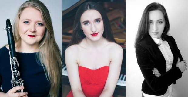 13 kwietnia na scenie Polskiej Filharmonii Bałtyckiej zaprezentują się najzdolniejsi tegoroczni dyplomanci gdańskiej Akademii Muzycznej: Klaudia Kulwikowska, Adrianna Paliwoda i Paulina Skoczyk.