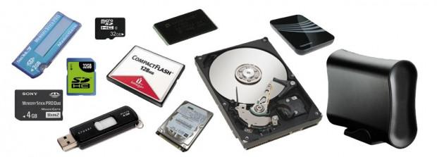 Firma Bartusz odzyskuje dane z wielu nośników danych.