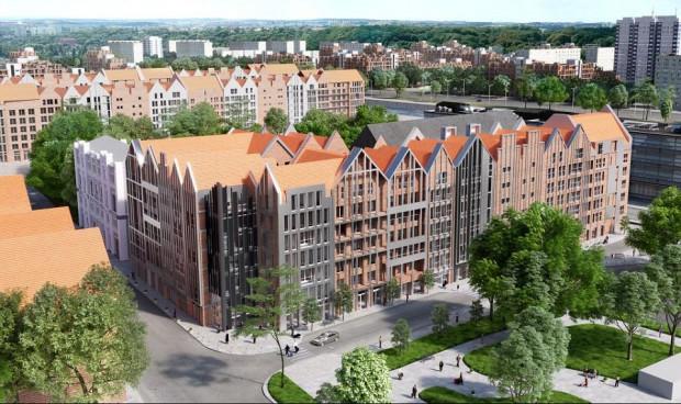 Grano Residence powstaje w centrum Gdańska na Wyspie Spichrzów.