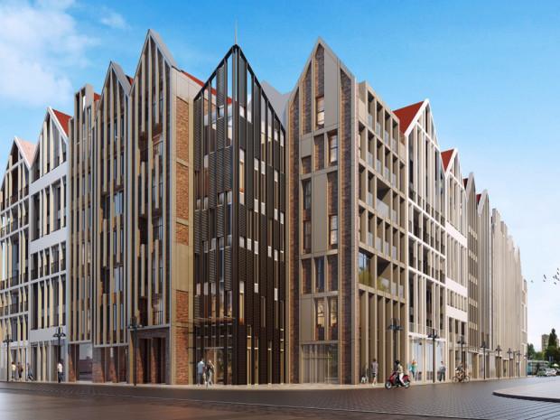 W budynku znajdzie się 141 apartamentów, które można kupić i czerpać zysk z ich wynajmu.