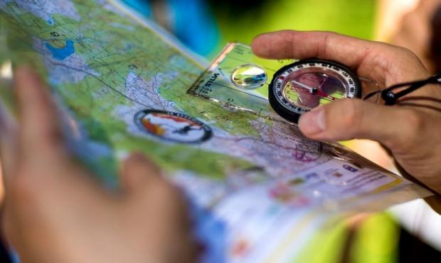 Umiejętność czytania mapy to jeden z elementów dotarcia do właściwego punktu kontrolnego