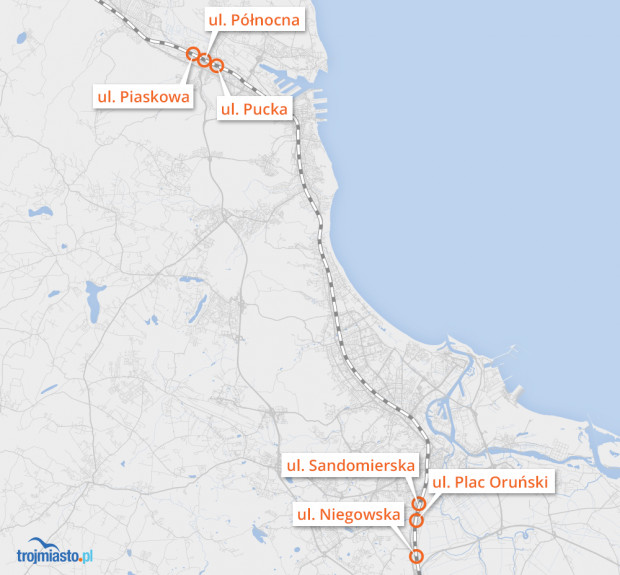 Po zmianie przepisów w tych miejscach pociągi nie będą już trąbić.