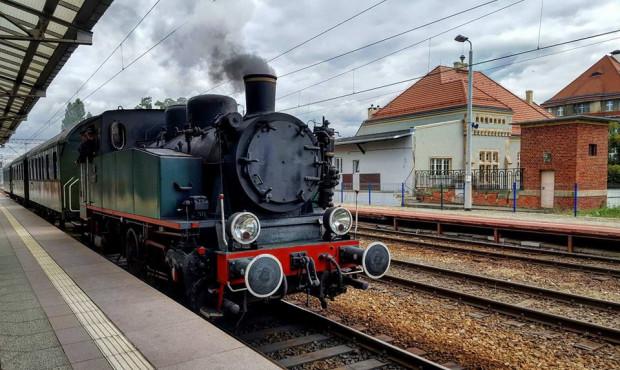 Pociągiem z parowozem wokół Gdyni
