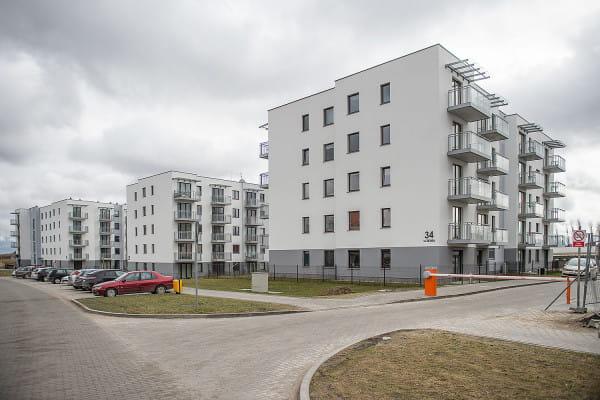 Pierwsze trzy budynki Chabrowego Wzgórza zostały oddane do użytkowania w 2017 roku. Są już zasiedlone.