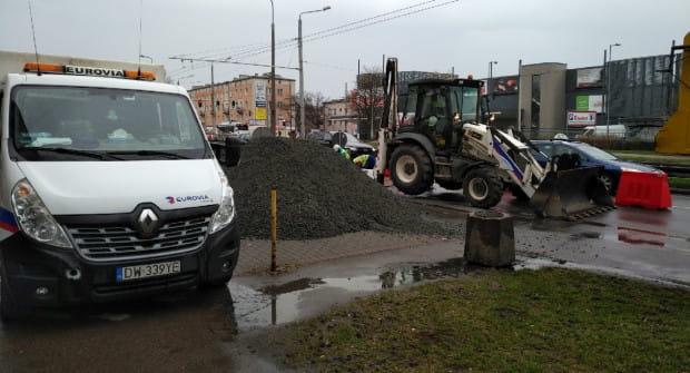 Prace przy budowie buspasów w Gdyni potrwają osiem miesięcy.