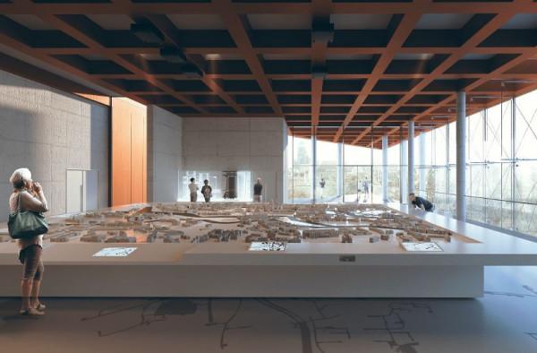 Tak ma wyglądać sala z makietą Gdańska, która powstanie w Kunszcie Wodnym.