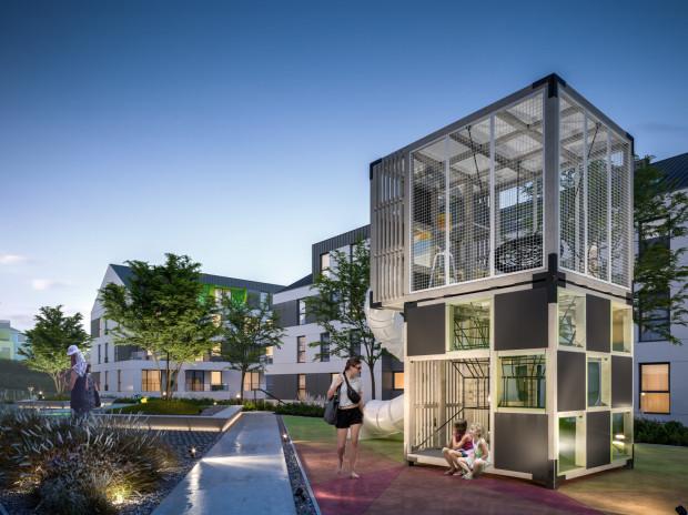 Planowana przestrzeń dla dzieci na osiedlu Havlove.