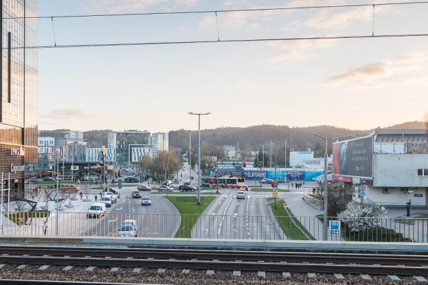 91a11a44c3610 Potencjalna forma zabudowy terenów UG z rejonu przystanku SKM Gdańsk  Przymorze-Uniwersytet. fot. K. Koprowski/mat. BRG
