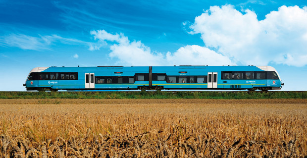 Spółka Arriva, która chce wozić pasażerów z Trójmiasta na Okęcie, będzie musiała się zaopatrzyć w nowy tabor. Obecnie posiada przede wszystkim szynobusy.