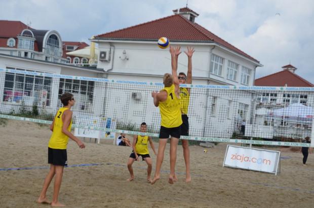 Niezależnie od temperatury, turniej siatkówki plażowej w Sopocie powinien cieszyć się sporą frekwencją.