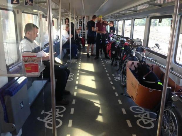 Poręcze dla rowerów są wygodną i uniwersalną alternatywądla haków i wieszaków.