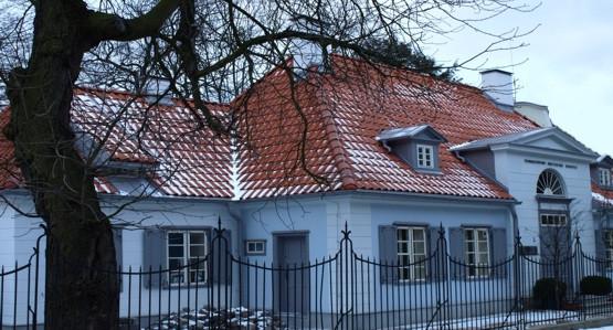 Sopocki Dworek Sierakowskich przy ul. Czyżewskiego.