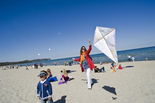 Tym razem latawce wzniosą się nad gdyńską plażą. W sobotę zaplanowano festiwal Latawce na Plaży.