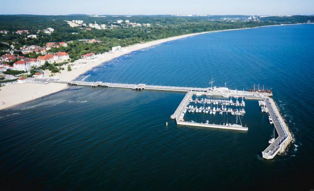 Sanepid rekomenduje, by nie korzystać z kąpieli w morzu na wysokości Sopotu.