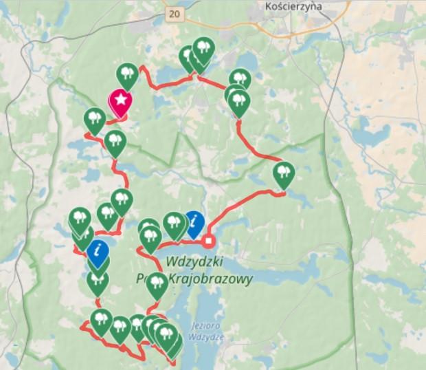 Zobacz naszą trasę / ściągnij ślad GPS