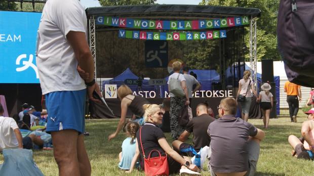 W części piknikowej mieliśmy także scenę, na której odbywały się konkursy i wykład ambasadorki imprezy, Katarzyny Bosackiej.
