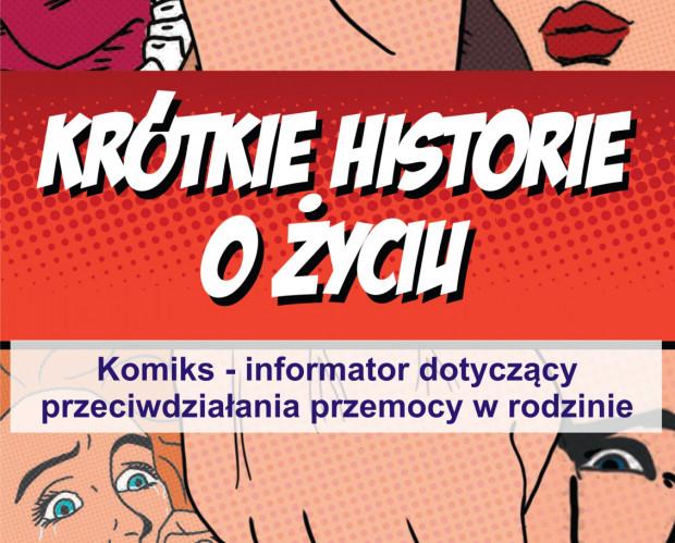 W Sopocie powstał komiks - informator dotyczący przeciwdziałania przemocy w rodzinie.