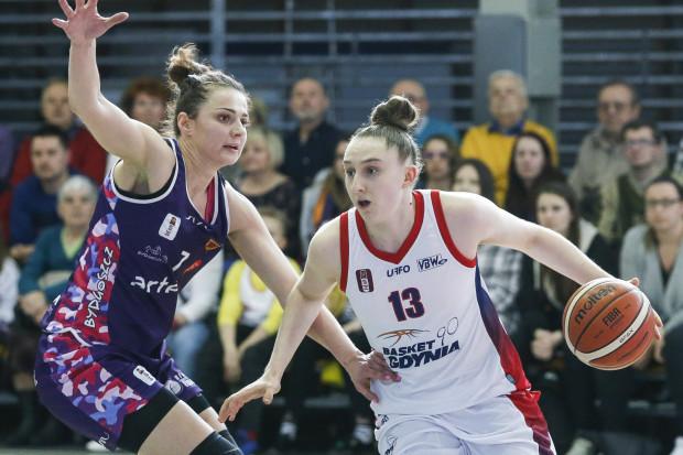 Anna Makurat z Basketu 90 Gdynia została wybrana najlepszą młodą zawodniczką EBLK.