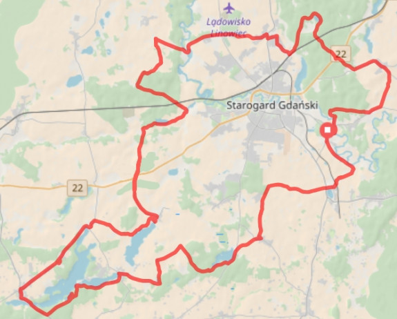Kliknij na mapę i prześledź trasę naszej wycieczki / ściągnij ślad GPS