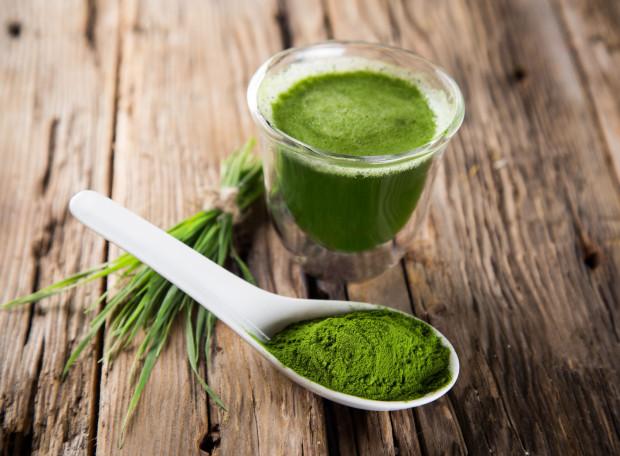 zielony jęczmień naturalny