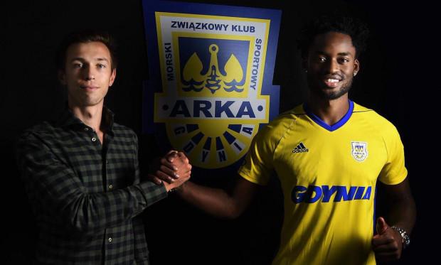 Christian Maghoma i Dominik Midak, większościowy udziałowiec Arki Gdynia