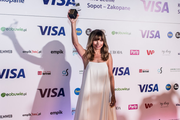 Tegoroczną laureatka Diamentowego Klapsa została Agnieszka Dygant.