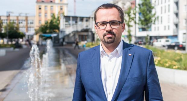 Marcin Horała jest kandydatem na prezydenta Gdyni z PiS.