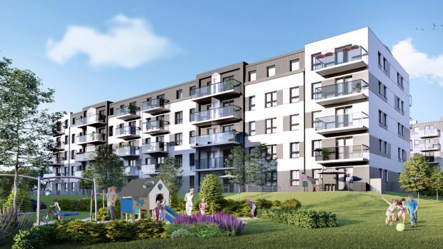Pastelowe Inteligentne Mieszkania W Zielonej Okolicy