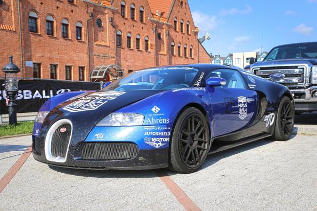 Ozdobą NexusBall Rally 2018 jest Bugatti Veyron.
