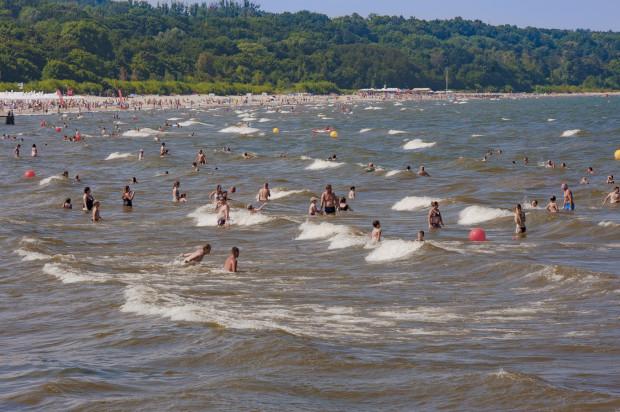 Obecnie sinice są w odwrocie, więc znów można chłodzić się kąpielami w Bałtyku.