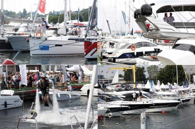 Targi w Gdyni to okazja do zobaczenia sprzętu i spotkania ludzi związanych ze sportami wodnymi.