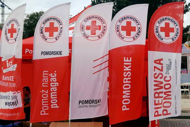 Zarząd główny PCK zawiesił panią prezes Pomorskiego Oddziału Okręgowego PCK Marzenę Dobrowolską wraz z całym zarządem okręgowym.