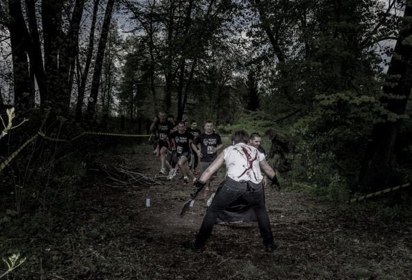 Bieg Zombie odbędzie się w sobotę w parku Reagana. Uczestnicy muszą się ścigać oraz unikać zombie.