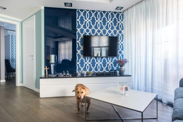 Ważnym mieszkańcem wnętrza jest seniorka Matylda, która praktycznie w każdym pomieszczeniu ma swoje miejsce.