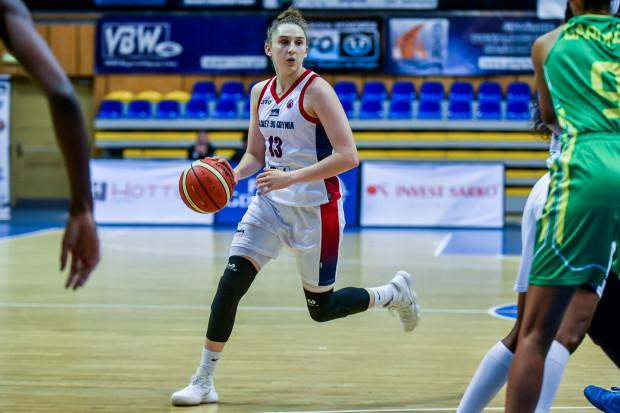 Anna Makurat i jej koleżanki z Basketu 90 zmierzą się w derbach Trójmiasta z Sunreef Yachts Politechnika Gdańska na początku grudnia.