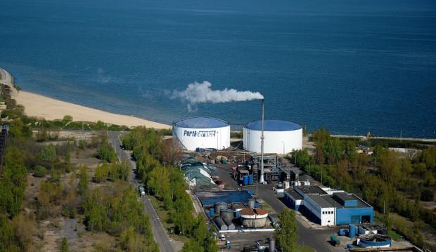 Zakład Port Service na Półwyspie Westerplatte