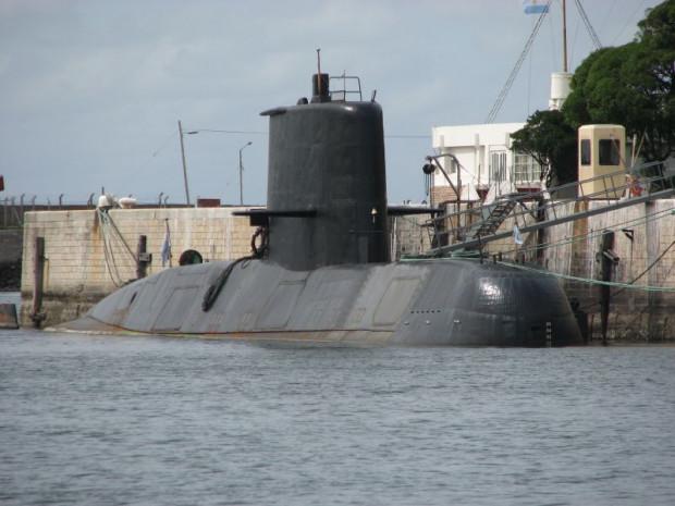 Argentyński okręt podwodny San Juan, który zatonął 15 listopada 2017 r.