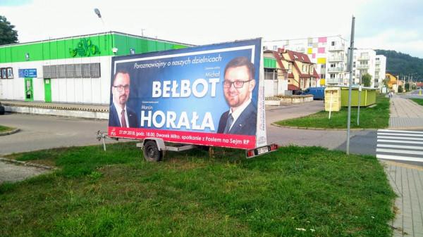Urzędnicy w Gdyni już sprawdzają czy pierwsze reklamy wyborcze ustawione zostały legalnie.
