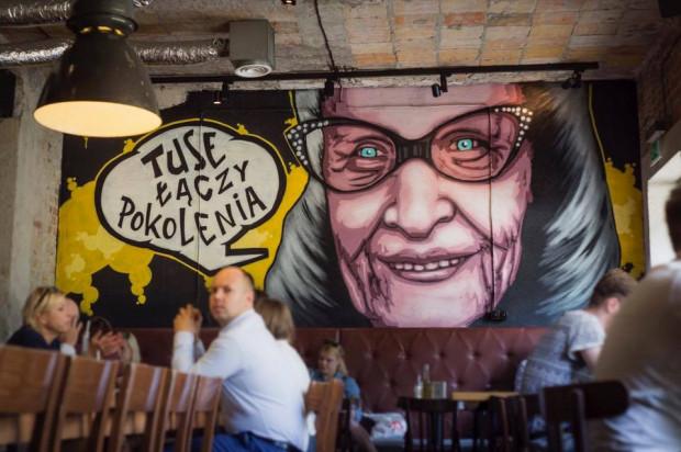 W Aioli również spotkamy malunki autorstwa Tuse.