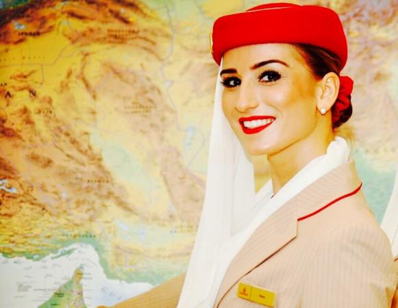 Ilona Szadejko od ponad trzech lat jest stewardessą w liniach lotniczych Emirates.