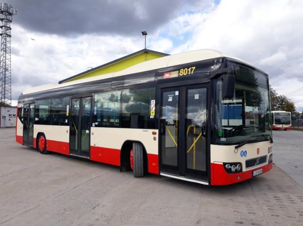 Tylko na zewnątrz Hybrydowy autobus (ponownie) na ulicach Gdańska FI61